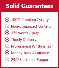 We provide guaranteed content written by professionals